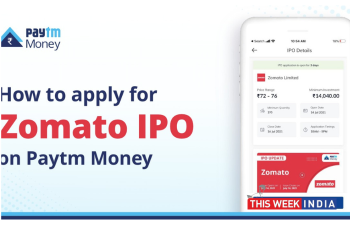 Zomato IPO: How to apply through Paytm Money   This Week India